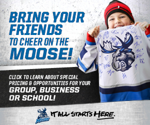 Bring Your Friends to Cheer on the Moose