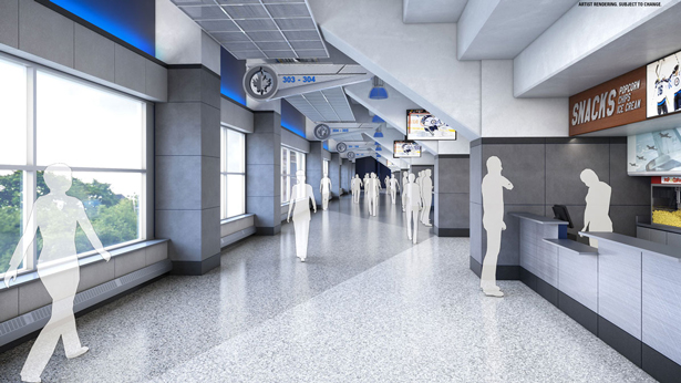 Bell Mts Place Concourse Renovations Feature Unique Made