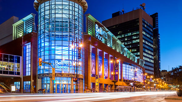 How to get to Bell MTS Place