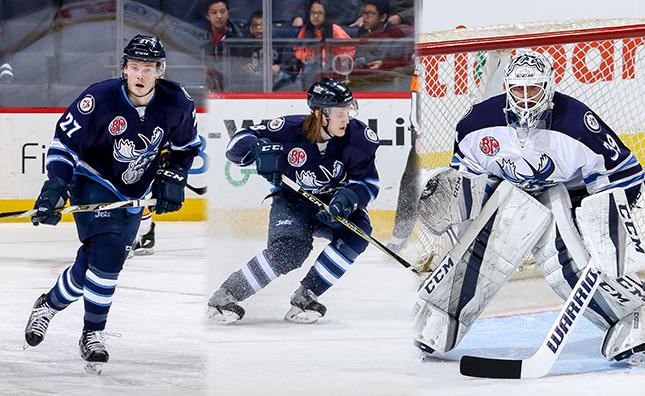 Three Moose Named To Ahl All Star Teams Manitoba Moose