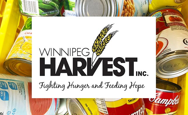 Winnipeg Harvest collection at upcoming hockey events