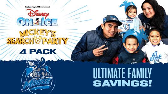 Disney on Ice 4 Pack